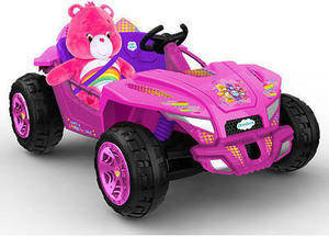 Dynacraft Care Bear Dune Buggy 12 Volt Powered Ride On