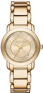 Michael Kors Women's Janey Gold-Tone Stainless Steel Bracelet Watch 33mm MK3485