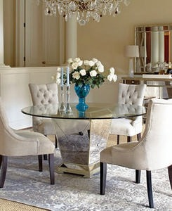 Marais Dining Room Furniture Collection, Mirrored