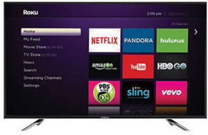 "Hitachi 55"" Class 1080p LED HDTV with Roku Streaming Stick"