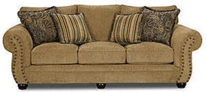 Simmons Upholstery VICTORIA ANTIQUE SOFA