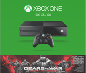 Xbox One 500GB Gears of War Ultimate Edition Bundle by Microsoft
