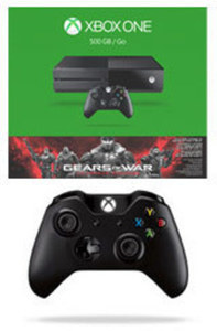 Xbox One 500GB Gears of War Ultimate Edition Bundle with Free Xbox One Wireless Controller