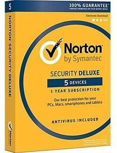 Norton Security Deluxe (5 Devices) for Windows After Rebate