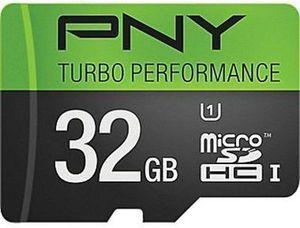 PNY 32GB Turbo MicroSDXC Flash Memory Card