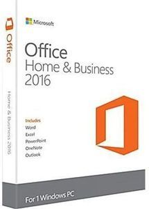 Microsoft Office Home and Business 2016 with PC Purchase
