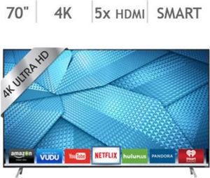 "Vizio 70"" 4K Ultra HD Smart LED LCD TV M70-C3"