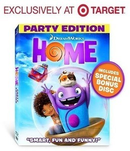 Home (Blu-ray/DVD) (Includes Digital Copy) - Target Exclusive