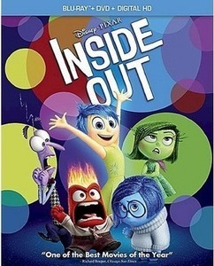 Inside Out (Includes Digital Copy) (Blu-ray/DVD)
