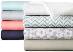 Home Expressions 200tc Cotton-Rich Sheet Set