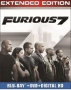 Furious 7 (Blu-ray/DVD) (Digital Copy) 2015