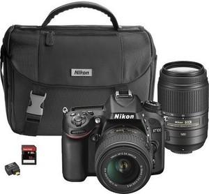 Nikon D7100 DSLR Camera w/ 18-55mm VR and 55-300mm VR Lenses