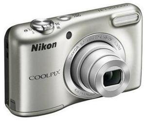 Nikon Silver COOLPIX L31 Digital Camera 16MPand 5x Optical Zoom