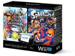 Nintendo Wii U Splatoon Console Deluxe Set