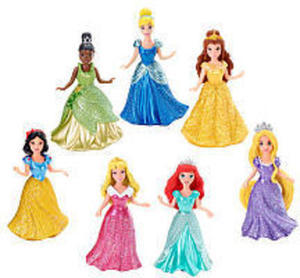 Disney Princess Small Doll Magiclip Princess 7-Pack