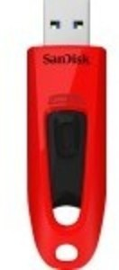 SanDisk - Ultra 32GB USB 3.0 Flash Drive - Red