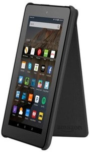 """Amazon Fire HD 7"""" 8GB Wi-Fi Tablet with 32GB microSD Card and Cover"""