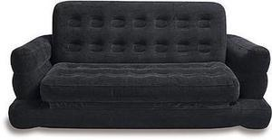 Intex Inflatable Queen Airbed with Pull-Out Sofa