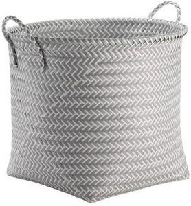 Decorative Basket RE Polypropylene Multicolor Round