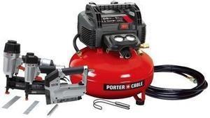 Porter Cable 6-Gallon Compressor Combo Kit