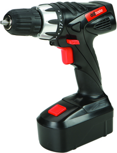 Drill Master 18 Volt 3/8 in. Cordless Drill/Driver With Keyless Chuck, 21 Clutch Settings