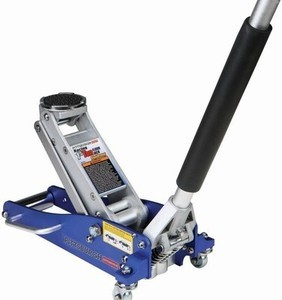 Pittsburgh Automotive 1.5 Ton Compact Aluminum Racing Floor Jack with Rapid Pump