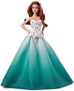 2016 Holiday Barbie Doll w/ Coupon #9
