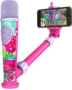 DreamWorks Trolls Selfie Star Video Recording Microphone