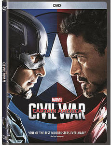 Marvel's Captain America: Civil War DVD