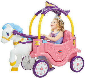 Little Tikes 2-in-1 Princess Horse and Carriage