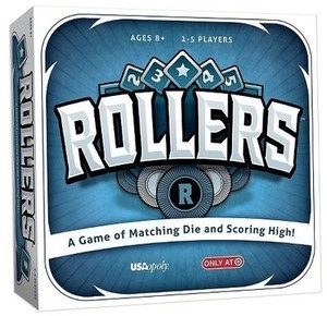 USAopoly Rollers Board Game