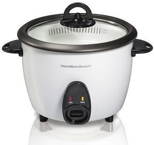 Hamilton Beach 16-Cup Rice Cooker After Rebate