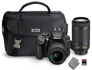 Nikon D3400 DX Bundle