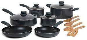 Basic Essentials 14-pc. Nonstick Aluminum Cookware Set After Rebate