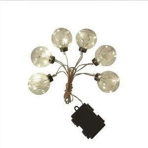 LED 10' Novelty Bulb String Lights LED String Lights and Branches