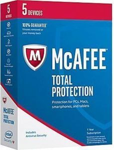 McAfee Total Protection 2017 - 5 Devices