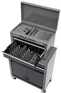 Craftsman 5-Drawer Tool Center with 108 pc Mechanics Tool Set