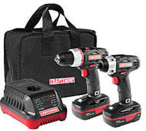 Craftsman C3 19.2-Volt Drill and Impact Driver Combo Kit