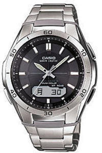 Casio Men's Waveceptor Solar Atomic Watch