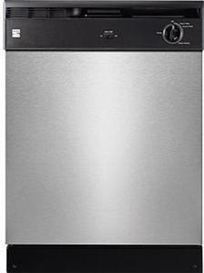 "Kenmore 14013 24"" Built-In Dishwasher - Stainless Steel"