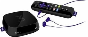 Roku 3 Streaming Player - Black