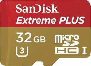 SanDisk Extreme PLUS 32GB microSDHC