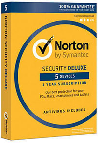 Norton Security Deluxe, For PC/Mac/Android/iOS