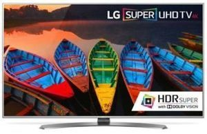 "LG 55"" 4K HDR Super Ultra HD webOS 3.0 Smart TV"
