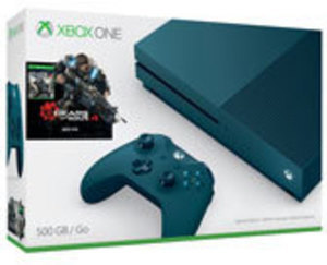 Xbox One S Deep Blue Special Edition 500GB Console with Gears of War 4 Bundle - Only at GameStop