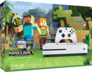 Xbox One S 500GB Minecraft Favorites Console Bundle