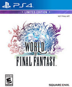 World of Final Fantasy Limited Edition (PS4)