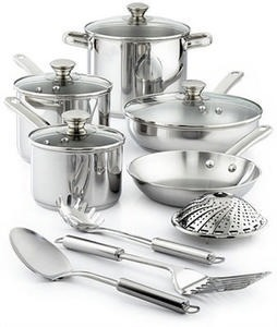 Tools of the Trade 13-Pc Cookware Set