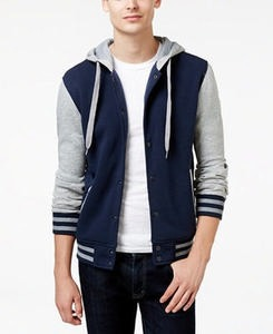 Ring of Fire Men's Hooded Varsity Jacket