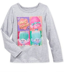 DreamWorks Trolls Hug Time Long-Sleeve Graphic T-Shirt